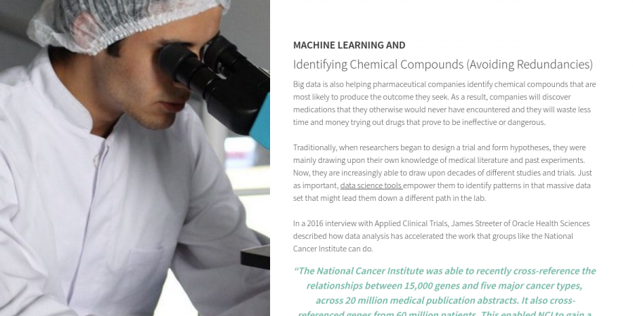 ML and Identifying Chemical Compounds - How Machine Learning is