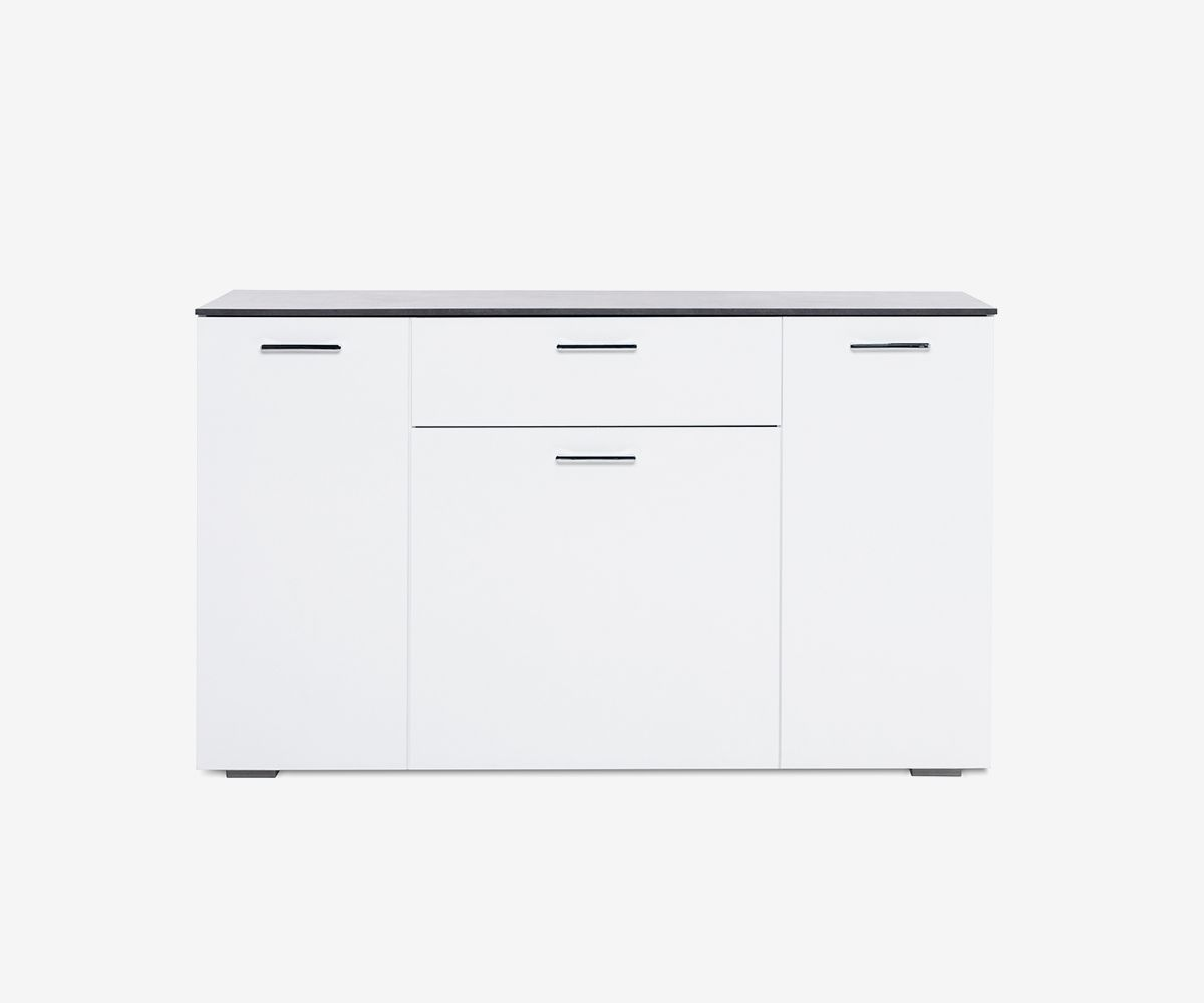 Buffets & Sideboards Home & Kitchen Art White High Gloss Cabinet