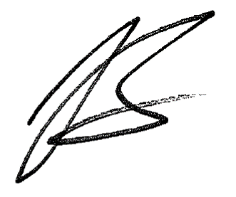James Langley signature